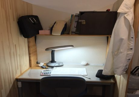 個室の専用席イメージ画像